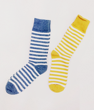Color Stripe Socks(4colors)