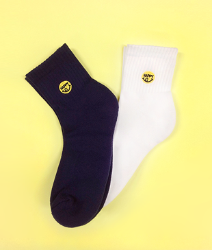 HAPPY SMILE Socks(2colors)